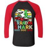 Next Level Tri-Blend 3/4 Sleeve Baseball Raglan T-Shirt
