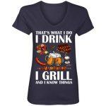 Anvil Women's V-Neck T-Shirt