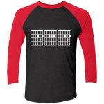 Next Level Unisex Tri-Blend 3/4 Sleeve Baseball Raglan T-Shirt