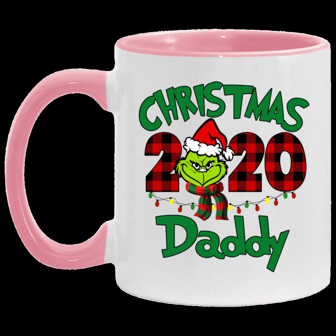 Personalized Mug Grinch Christmas 2020 Daddy Gifts Mug Custom Name Family Christmas Coffee Mugs Awesome Tee Fashion